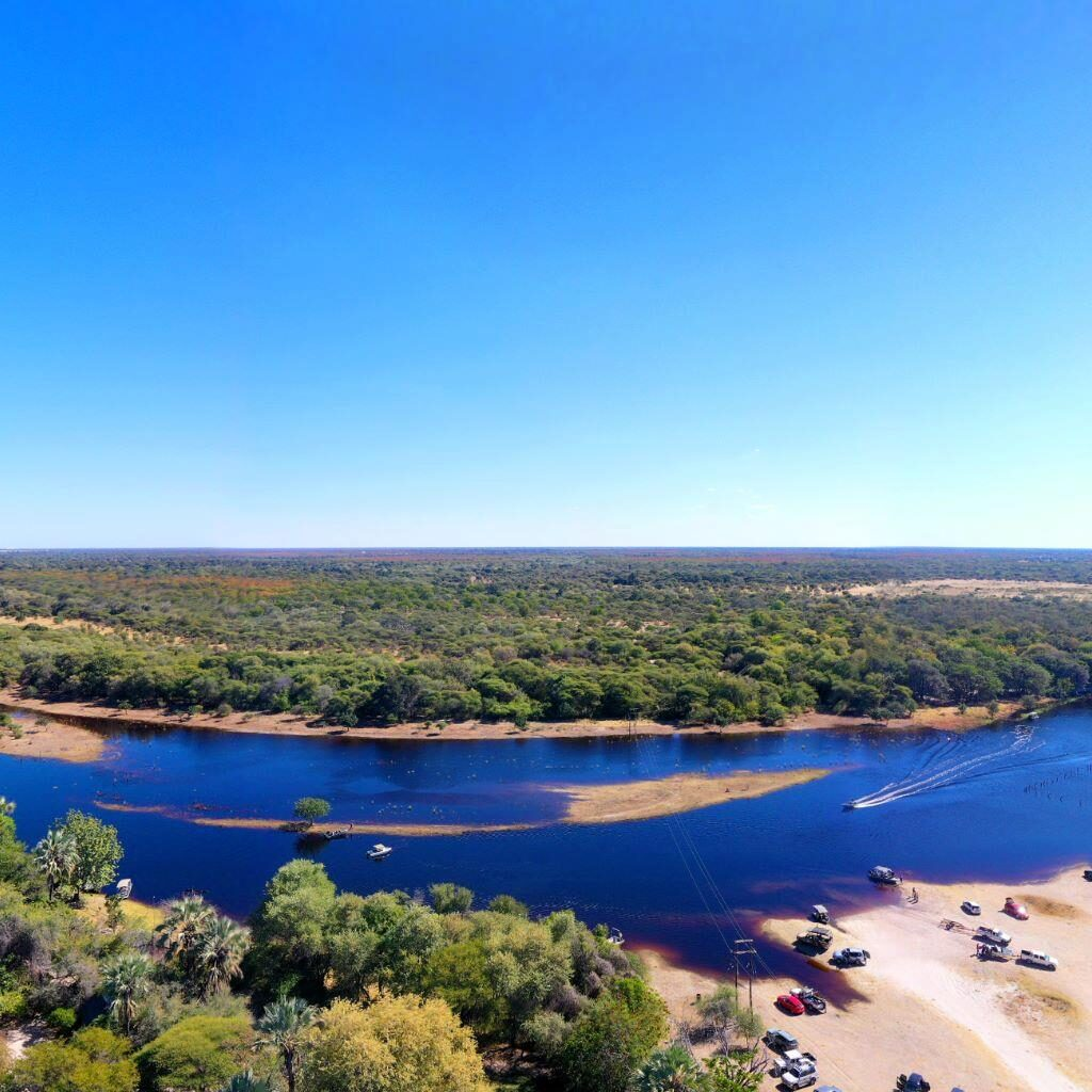 Botswana flooding Okavango Delta