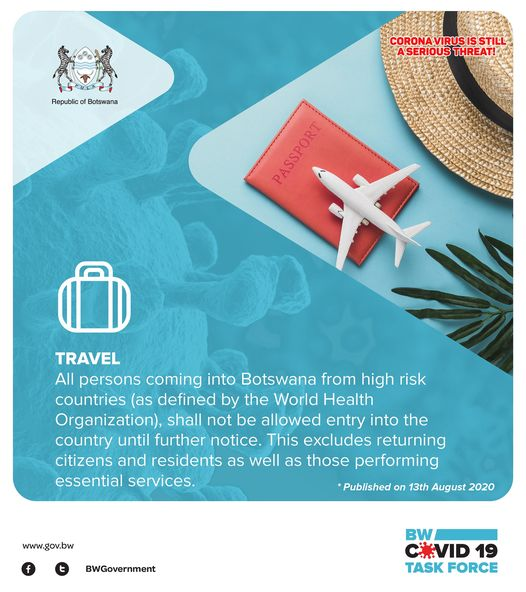 Travel updates in Botswana