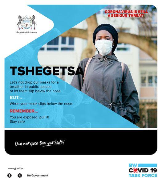 Wear a mask - Botswana