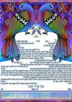Ketubah Chuppah of Birds