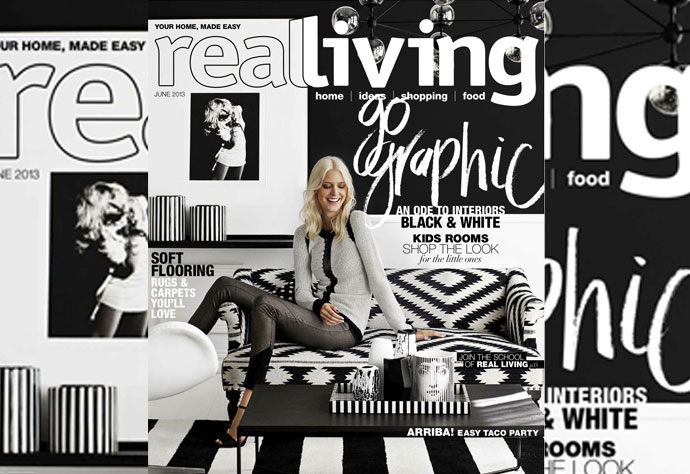 Real Living : Cover