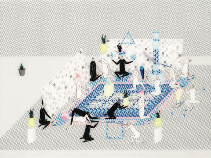 Mark Whalen : Maze Walkers