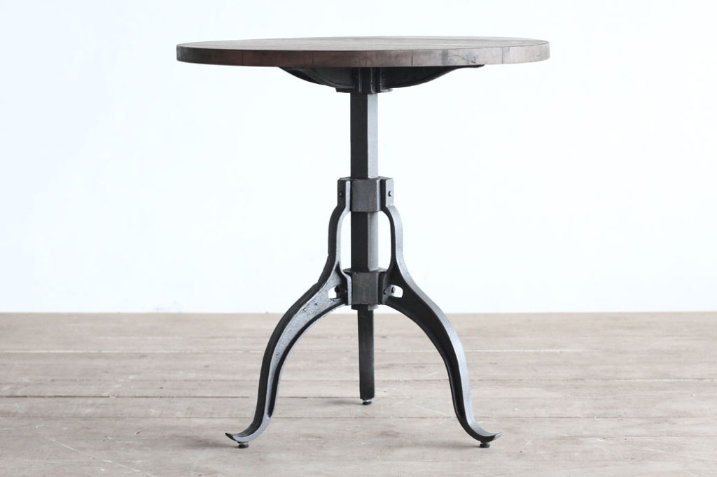 Crank Base Cafe Table