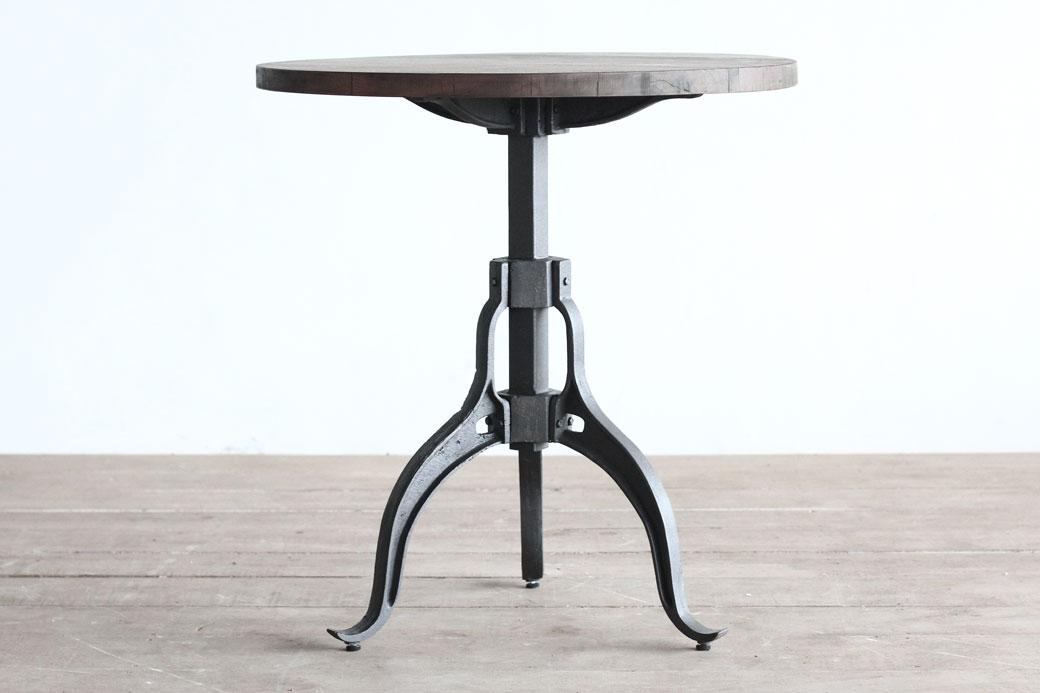Crank Base Cafe Table
