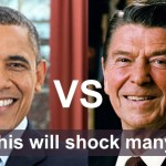 President Barack Obama Ronald Reagan