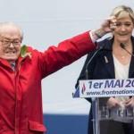 Le Pen KKK Donald Trump