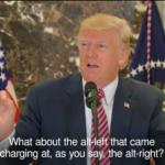 Centrist Pundits Paved Way for Trump's Alt-Left False Equivalence