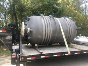 Pressure Vessel en route to destination