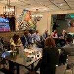 HCCMC Networking event at Q'Viva restaurant on October 2019