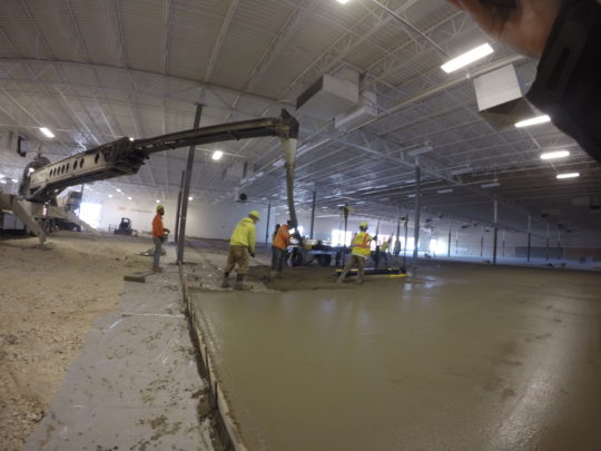 Floor & Decor Brookfield Wisconsin Interior Slab Replacement