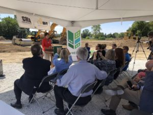 Lt. Governor Rebecca Kleefisch at Kenosha County Groundbreaking Ceremony