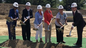 Groundbreaking: Construction Begins at Whitetail Ridge in Paddock Lake