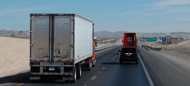 sharing the road with motorists and truck drivers