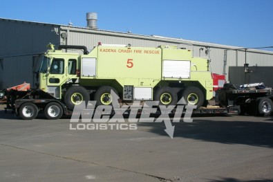 Firetruck Shipping and Heavy Equipment Transport