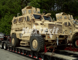 Military Vehicle Shipping