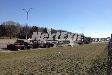 13-axle heavy haul shipment