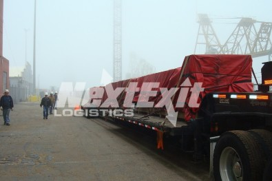 Propeller shaft transportation