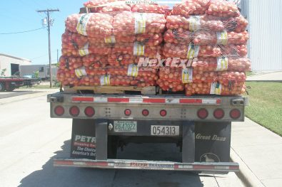 Flatbed with Onions – Rear