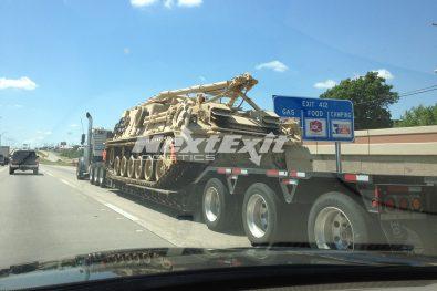 Military Truck Transportation