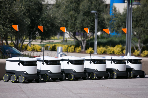 starship delivery robots