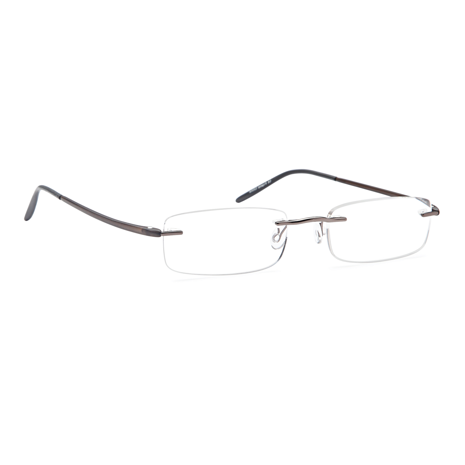 4d08931a7937 ALTEC VISION Minimalist Rimless Reading Glasses for Men and Women in  Stainless Steel and TR90 Temple Arms for Maximum Comfort and Lightweight Fit