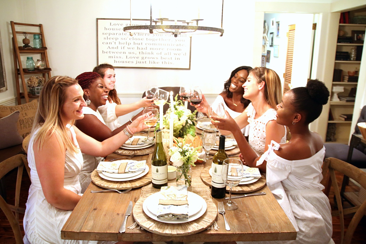 wine dinner party