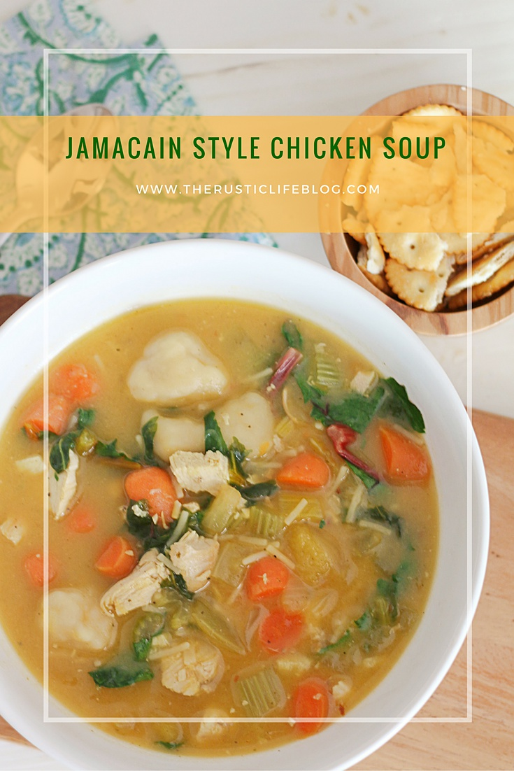 jamaican style chicken soup