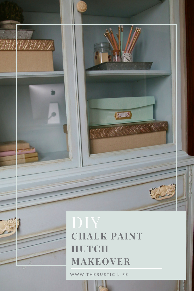 french blue chalk paint