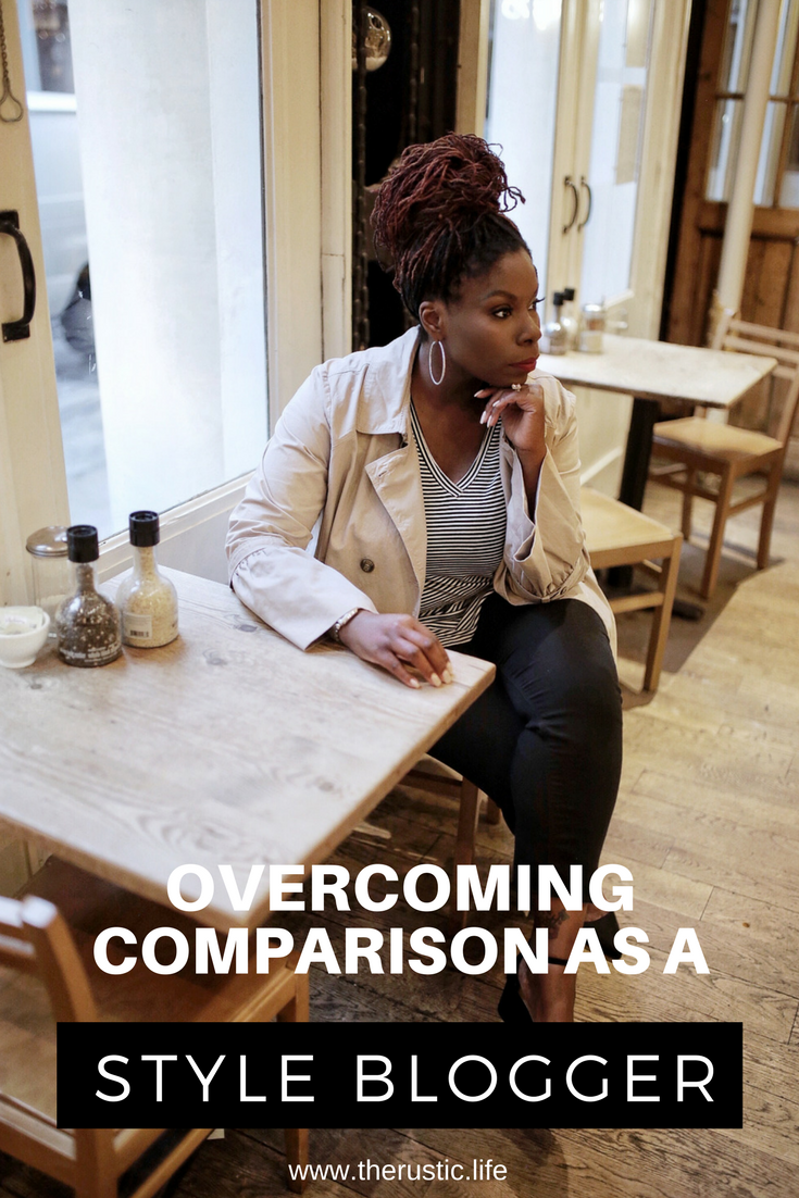 how to overcome comparison as a style blogger