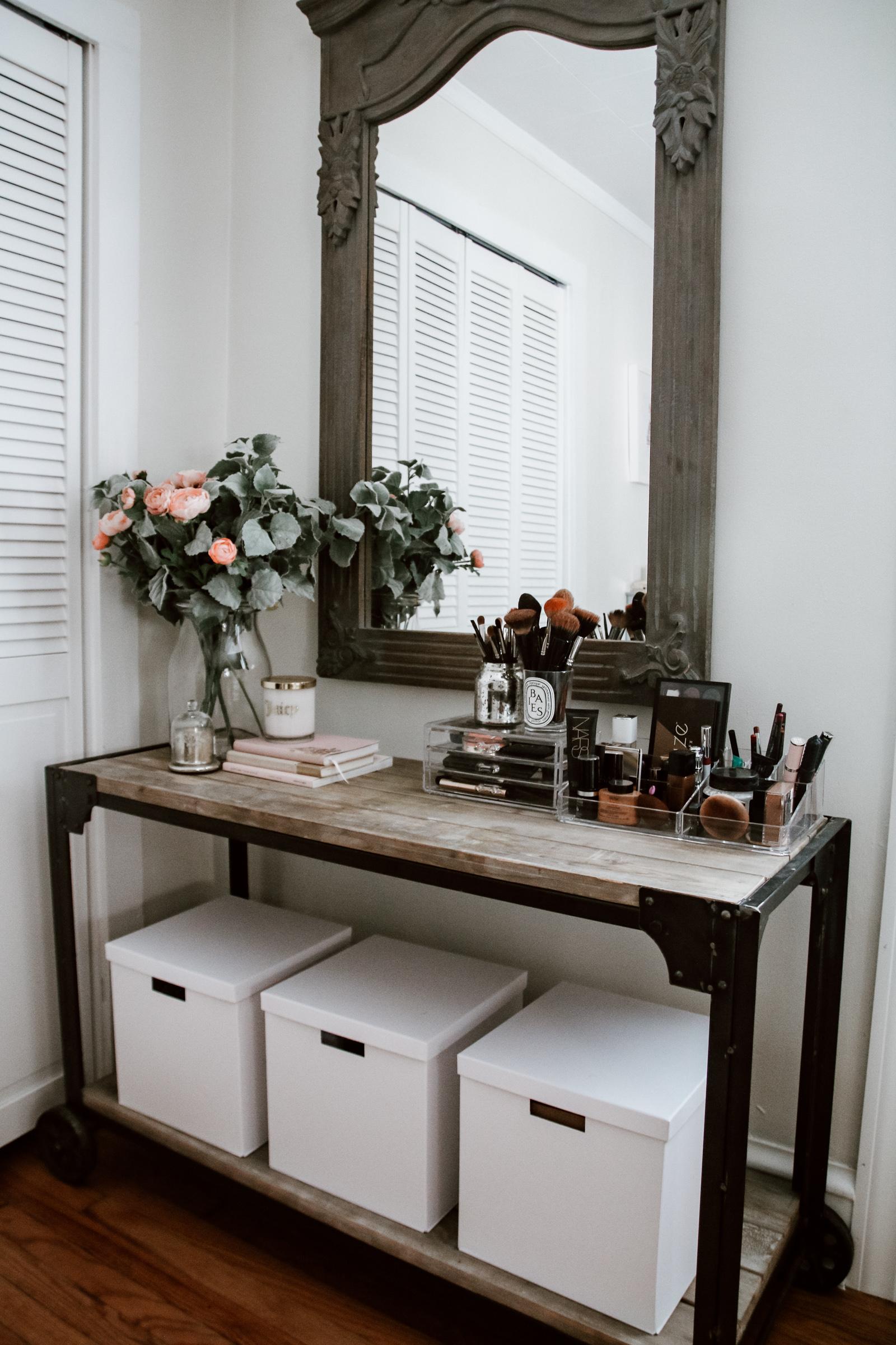 dressing room makeover