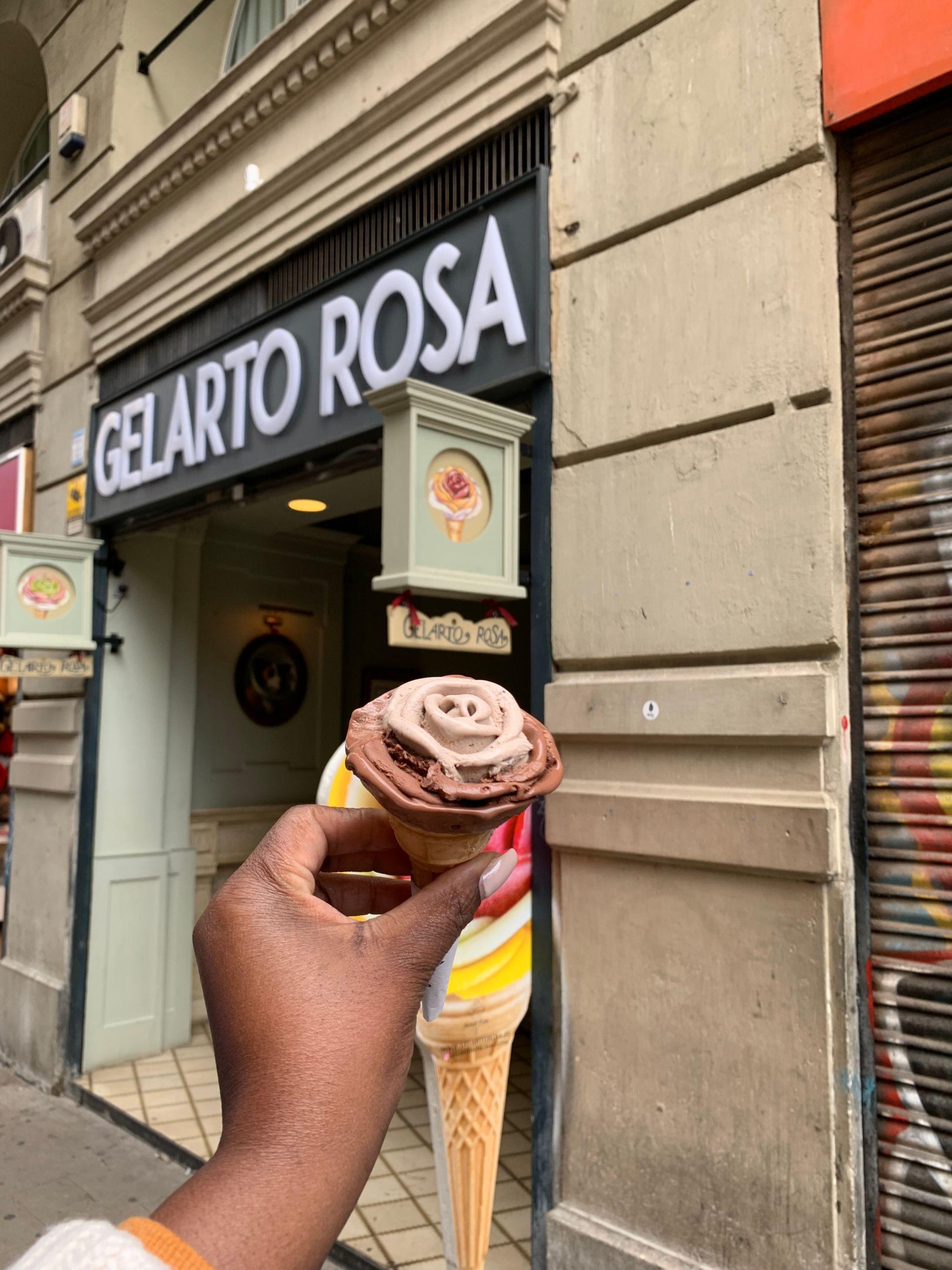 gelato barcelona