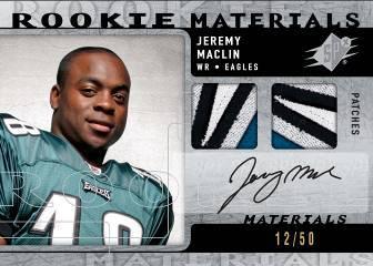 09 SPx Rookie Materials Auto - Jeremy Maclin