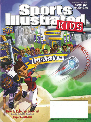 March 2009 cover of Sports Illustrated for Kids