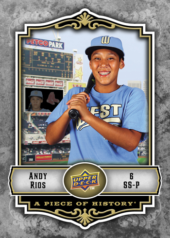 MVP: Park View All-Star Shortstop Andy Rios was named the LLWS MVP.