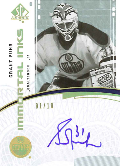 0910 SPA Immortal Inks - Grant Fuhr