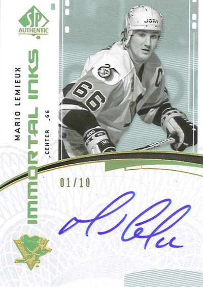 0910 SPA Immortal Inks - Mario Lemieux