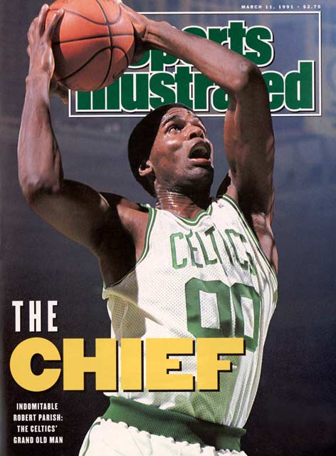 Robert Parish was one tough cookie.