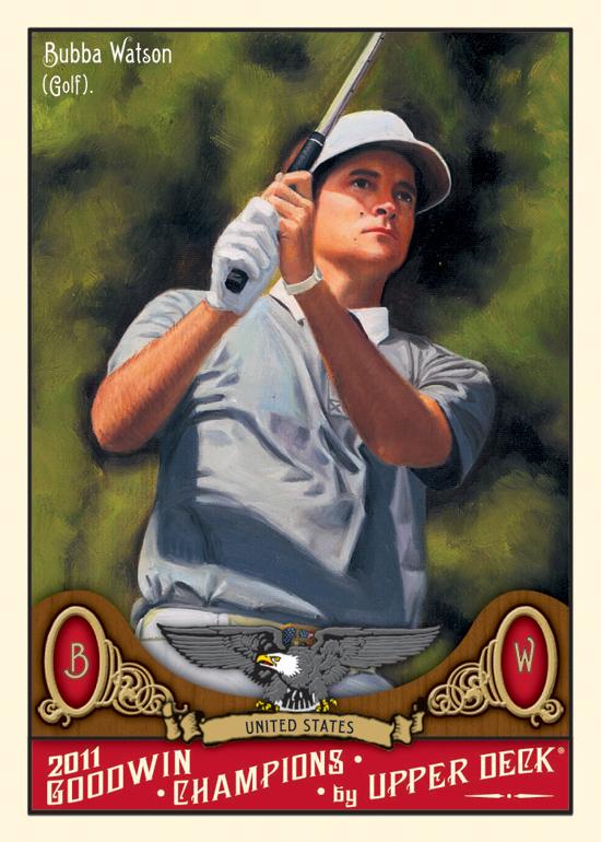 Bubba Watson Upper Deck Trading Card