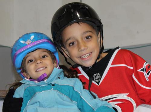 Devin Ybarra, Upper Deckl's NHL All-Star Stick Kid Winner.