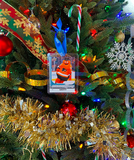 upper deck christmas tree holiday ornament