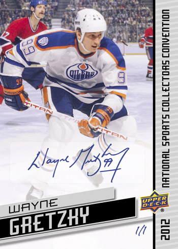 Gretzky National Autograph