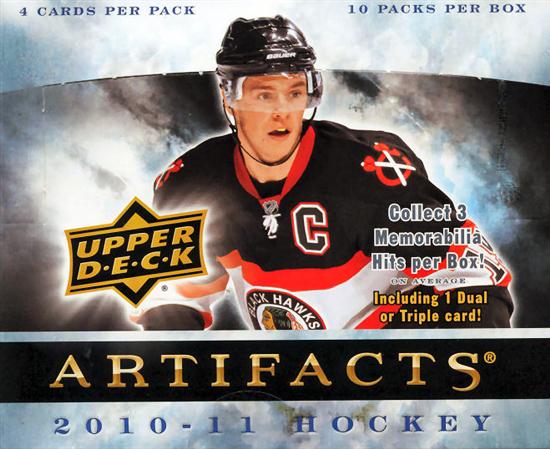 2010-11 NHL Artifacts