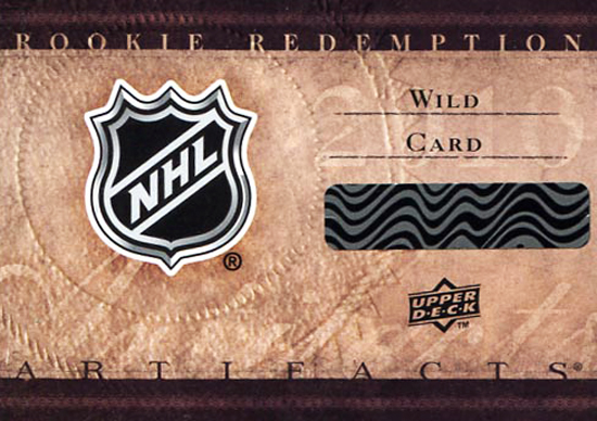 Artifacts rookie redemptions