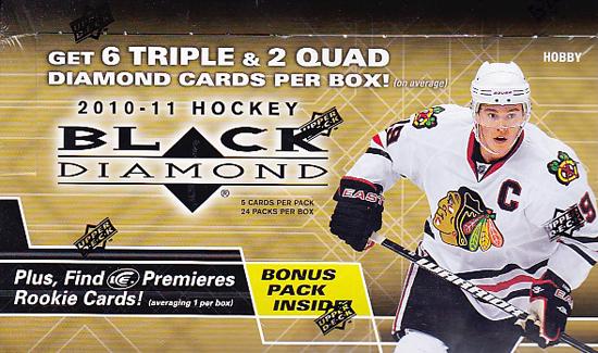 2010-11 NHL Black Diamond