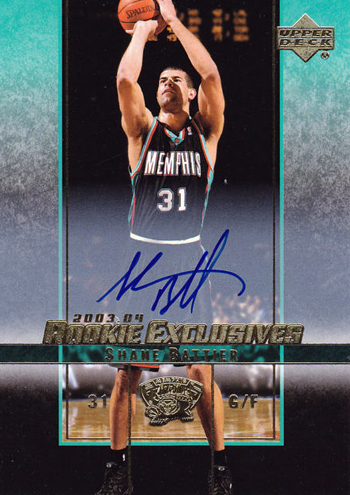 Miami Heat Shane Battier Rookie Upper Deck