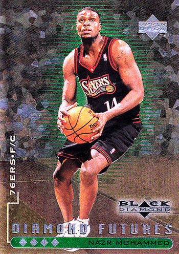 Nazr Mohammad Rookie Card