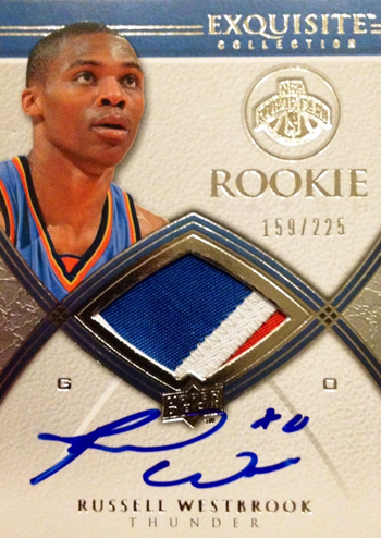 Russell Westbrook Autograph Rookie