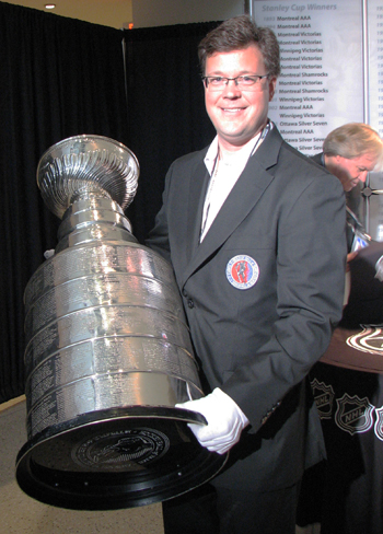 Craig Campbell NHL Stanley Cup