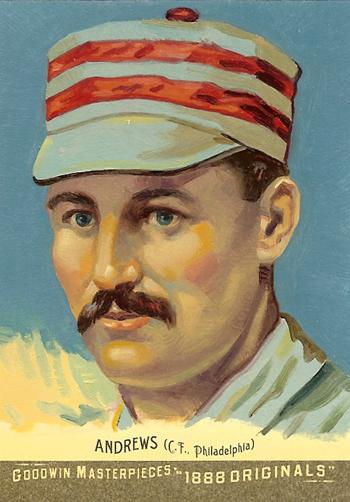 Goodwin Champions 1888 Original Art Cards