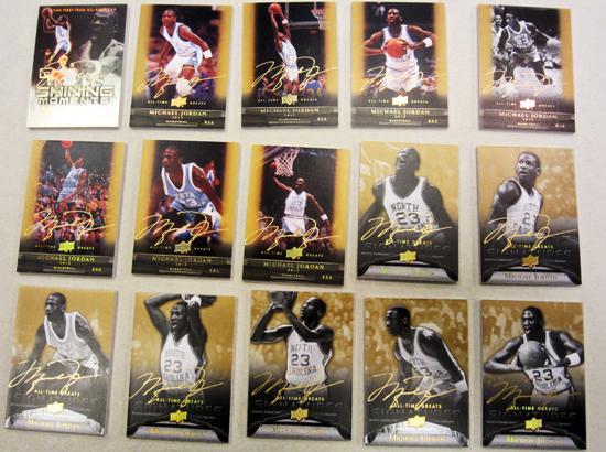 2012 Upper Deck All-Time Greats Michael Jordan Autographs